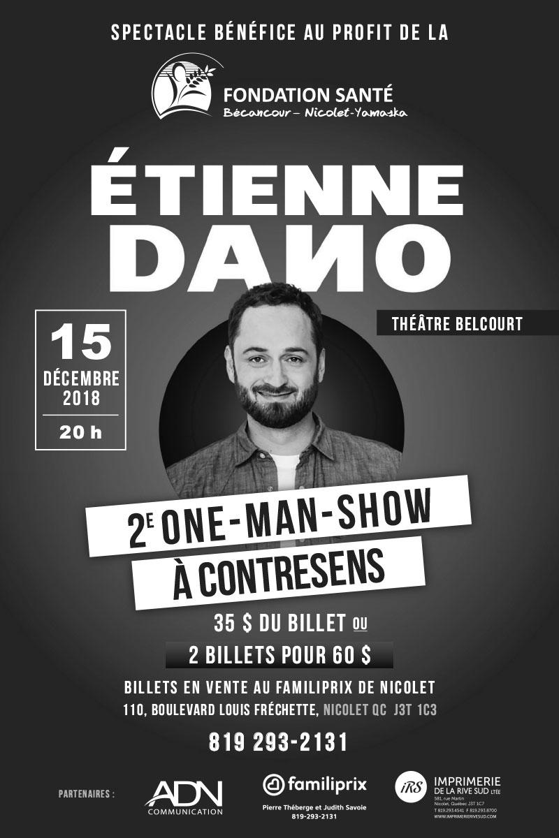 Spectacle bénéfice Étienne Dano - 15 décembre 2018